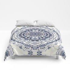 Supernova-In Navy, Dark Blue, & Grey Comforters