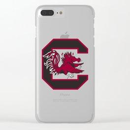 South Carolina Gamecocks Clear iPhone Case