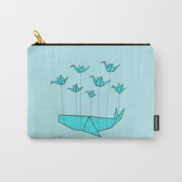 Origami Fail Whale Carry-All Pouch