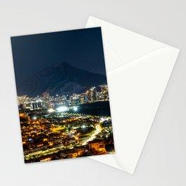 Monterrey at Night - Monterrey, Mexico Stationery Cards
