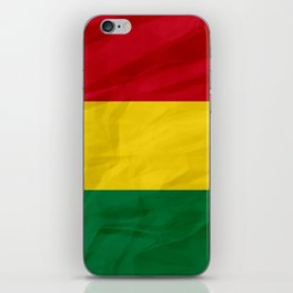 Bolivia - South America flags iPhone Skin
