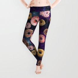Donuts In Space Leggings