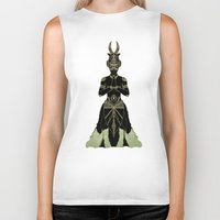 ornate Biker Tanks featuring Ornate spirituality by Barruf