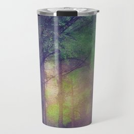 Magical forest watercolor painting Travel Mug