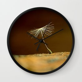 Dandelion seed  Wall Clock