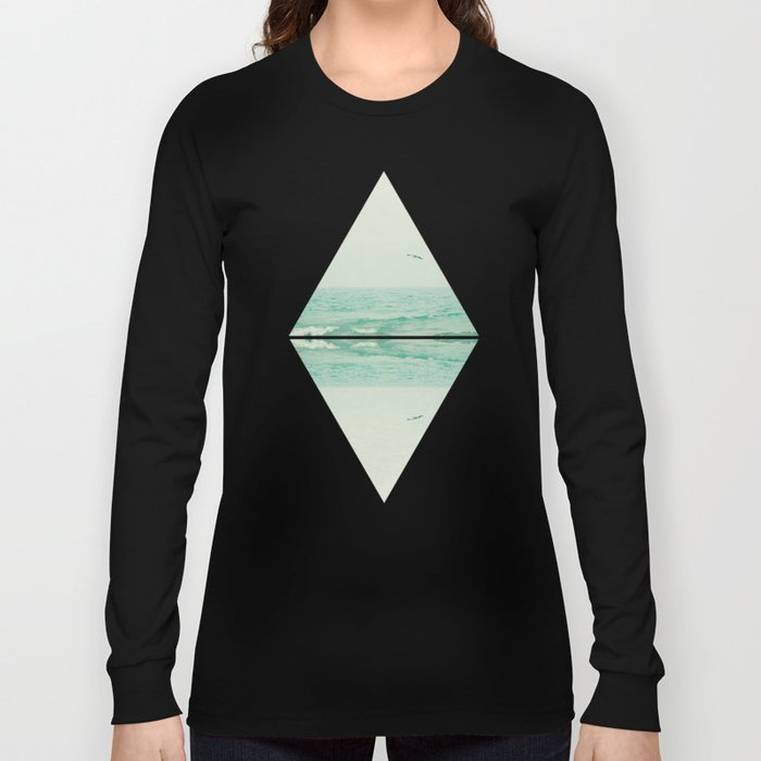 Parallel Waves Long Sleeve T-shirt