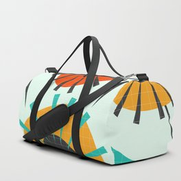 Prickly flowers Duffle Bag
