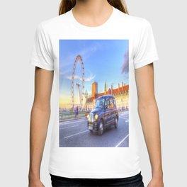Westminster Bridge And The London Eye T-shirt