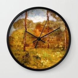 George Inness - Orange Road, Tarpon Springs - Digital Remastered Edition Wall Clock