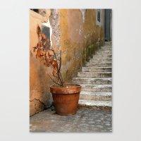 orange pattern Canvas Prints featuring orange pattern by Massimo Lanzi