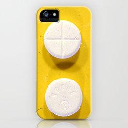 Yellow Rohypnol iPhone Case