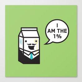 I Am The 1% Canvas Print