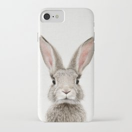 Bunny Portrait iPhone Case