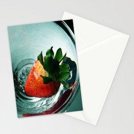 Fruity Strawberry Stationery Cards