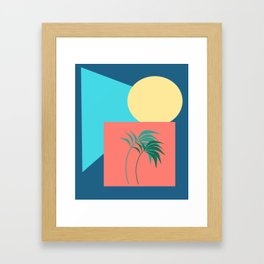 Shapes of the Palm Framed Art Print