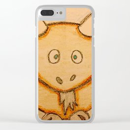 Billy the goat Clear iPhone Case