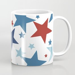 Stars - Red, White and Blue Coffee Mug