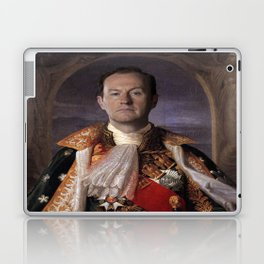 The current King of England- Mycroft Holmes Laptop & iPad Skin