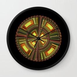 Fractal Optical Sphere Wall Clock
