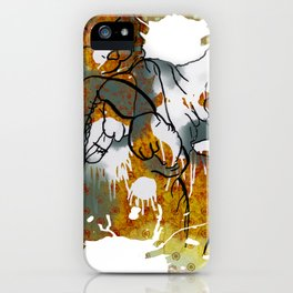 Dreams about milk  iPhone Case