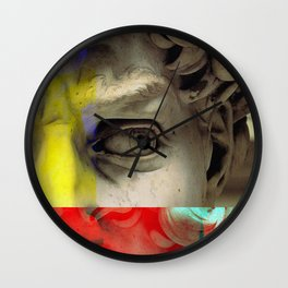 RY Statue Wall Clock