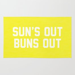 Suns Out Buns Out Rug