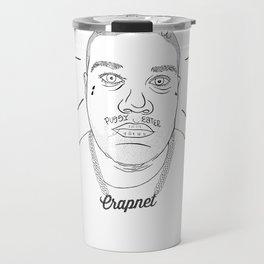 CRAPNET Don't Care - 'Romance' Travel Mug