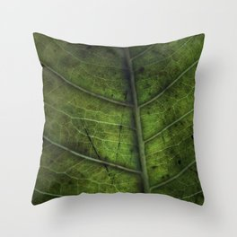 Leaf Five Throw Pillow