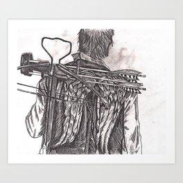 Daryl Dixon Art Print