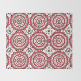Rosy dreams. Kaleidoscope. Throw Blanket