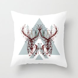Deer Darlin' Throw Pillow