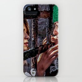 SuperCorp Captain Luthor and Admiral Zorel iPhone Case