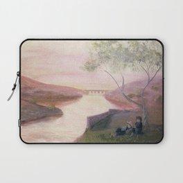 Tuscan River Landscape Laptop Sleeve
