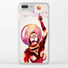 Creando mi propio universo // making my own universe Clear iPhone Case
