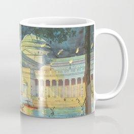 Lagoon at Night; Palace of Fine Arts in Chicago 1893 Coffee Mug