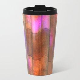 stained-glass reflection Travel Mug