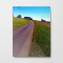 Country road, take me upwards Metal Print