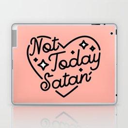 not today satan I Laptop & iPad Skin