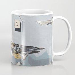 Warbler Exhibit Museum Birds Coffee Mug