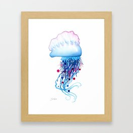 Manowar Jellyfish Framed Art Print