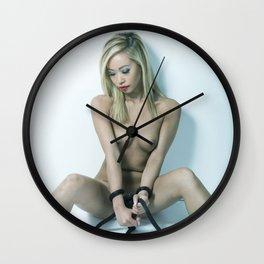 Pretty Tied up ll Wall Clock