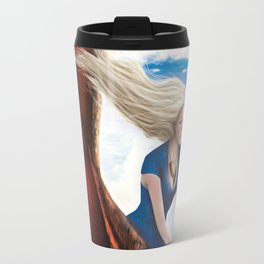 Flying with Drogon Travel Mug