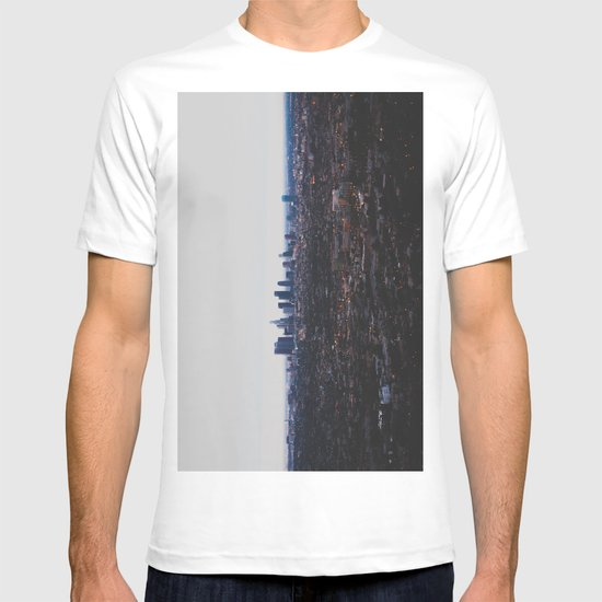 Los Angeles in fog T-shirt