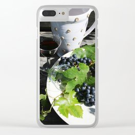 Grapevine Clear iPhone Case