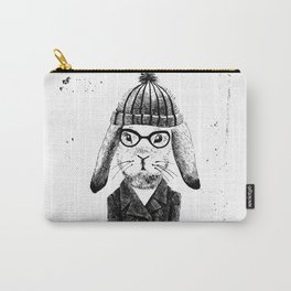 Hiphop Beanie Bunny Top Carry-All Pouch