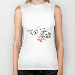 flower girl Biker Tank