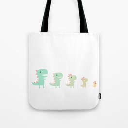 Evolution of a Chicken Tote Bag