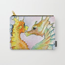 Seahorse Love Carry-All Pouch