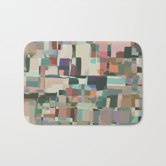 Abstract Painting No. 8 Bath Mat