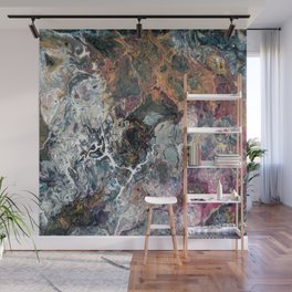 Color storm Wall Mural